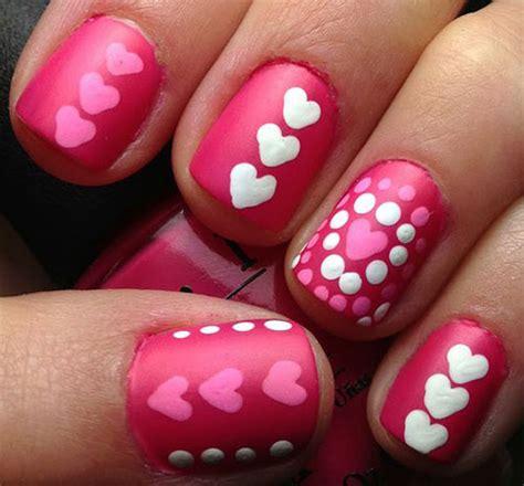 valentine s day 2017 ideas 15 pink valentine s day nail art designs ideas 2017
