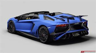 official 2016 lamborghini aventador lp750 4 sv roadster