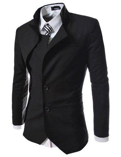 Jaket Blazer Pria Coolmen Black mens suits tips part 2