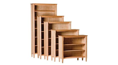 circle furniture shaker bookcases bookcases ma