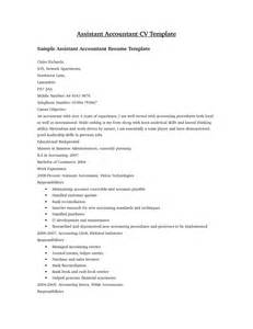 Sle Resumes In Word Format by Accounting Resume Sles Free Inspiration Decoration