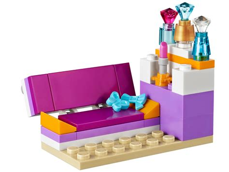 lego friends andrea s bedroom andrea s bedroom 41009 friends brick browse shop lego 174