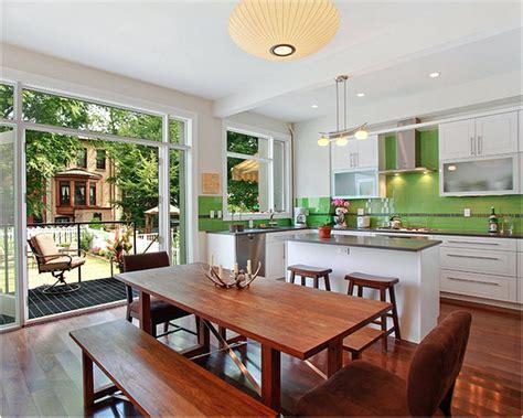 tips desain dapur  ruang makan jadi satu renovasi