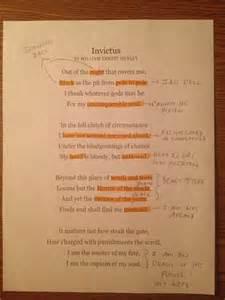 Invictus Essay by Invictus Poem Analysis Myideasbedroom
