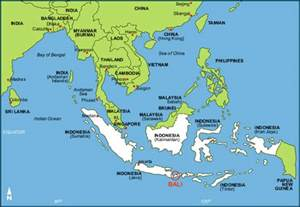 Bali On World Map by Bali Location On World Map Submited Images