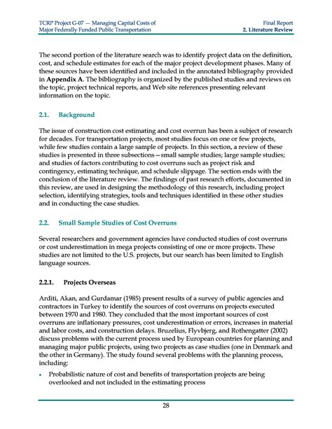 How To Write Literature Review For Project Report by How To Write Literature Review For Project Report