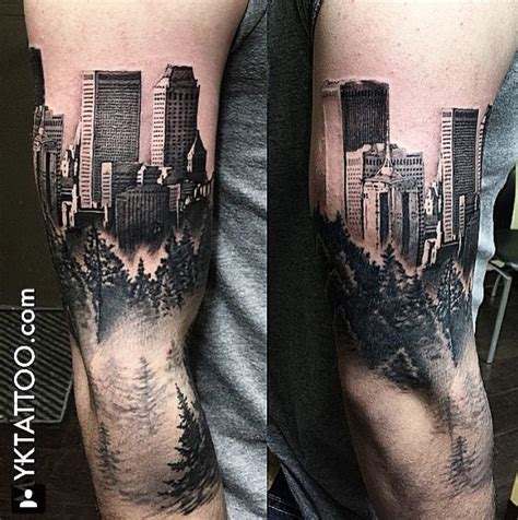 city tattoos designs 25 best ideas about city on skyline