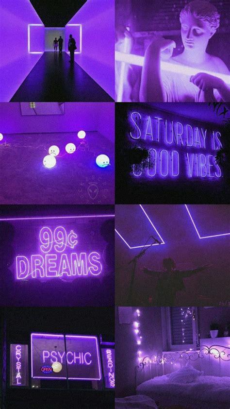 purple aesthetic purple aesthetic neon wallpaper