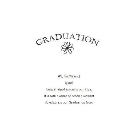 free graduation invitation templates for word graduation announcements 11 wording free geographics word templates