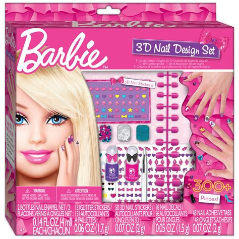 doll nail design 3d nail design set