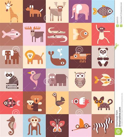 design zoo graphics zoo animals vector illustration stock vector image 42447573