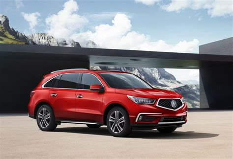 acura mdx colors 2018 acura mdx adds new colors tech updates