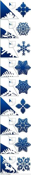 3d snowflake template diy paper snowflake projects 2d 3d to beautify
