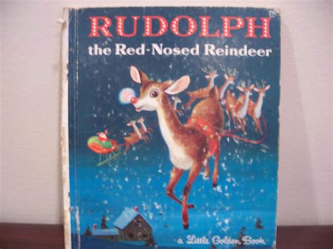brewdolph the hop nosed reindeer books rudolph the nosed reindeer golden book 1958 ebay