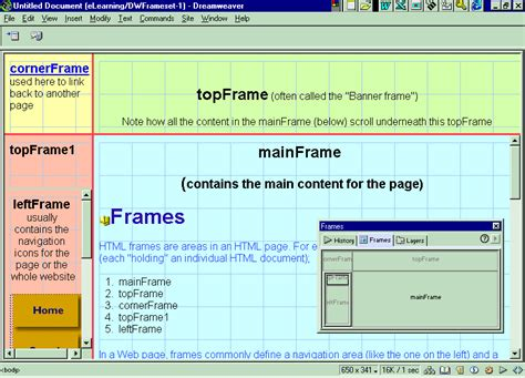 Design Html Page Showing Forms And Frames | frames and forms in html frame design reviews