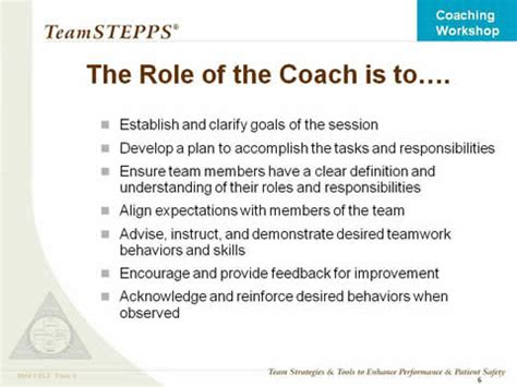 meaning of couching coaching workshop instructor slides agency for