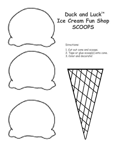 scoop template best photos of scoop outline scoop
