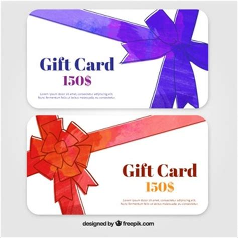 Promotional Gift Cards - cards dollar vectors photos and psd files free download