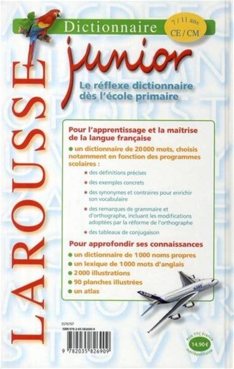 Livre Dictionnaire Larousse Junior 7 11 Ans Collectif