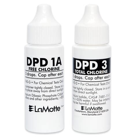replacement test kit chlorine free total liquid from cole parmer canada