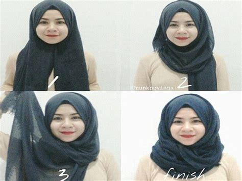 tutorial hijab segitiga untuk ibu ibu til elegan dengan tutorial hijab modern untuk ibu menyusui
