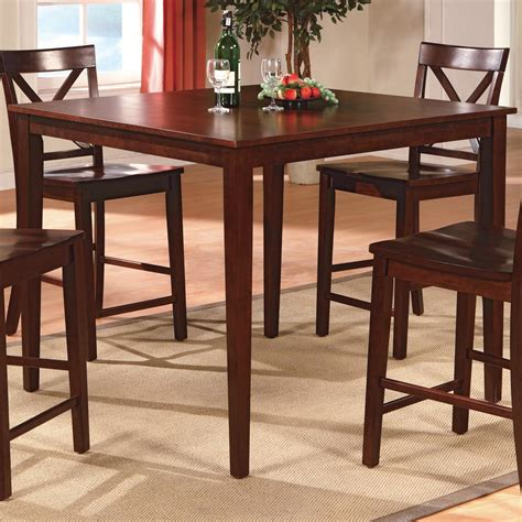 crown 4 counter height table set crown theodore 5 counter height table set with