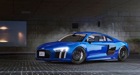 tuner cars gta 5 2017 audi r8 add on replace wipers tuning gta5