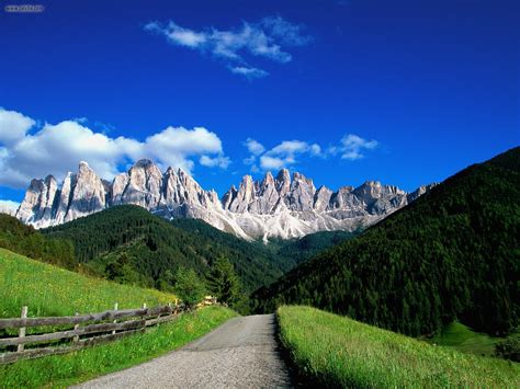 Dolomite Mountains | nature dolomite mountains italy picture nr 19777