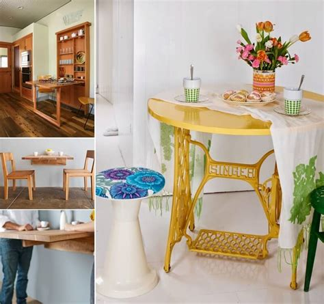 small dining table ideas  tiny spaces