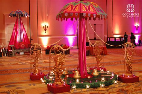 mehndi themed events sangeet garba mehndi decor occasions by shangri la