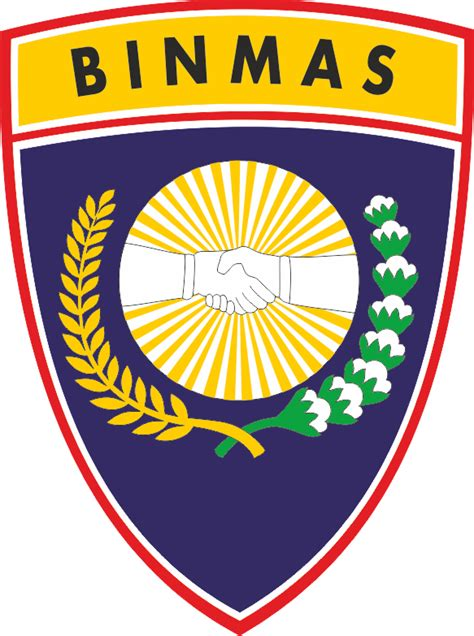 Kaos Z Logo C01 Bxnk logo baru bimas polri 2016 kepolisian republik indonesia