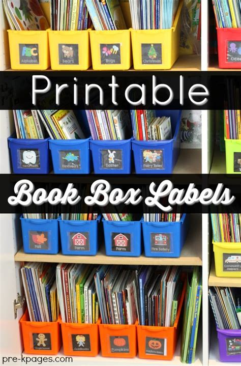 Book Labels For Classroom