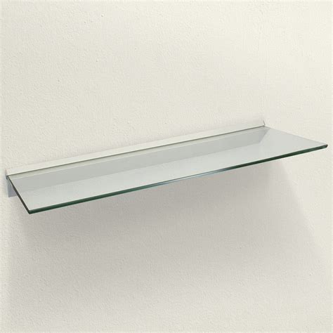 glass shelves for bathroom wall glass floating shelves bathroom spancraft glass floating