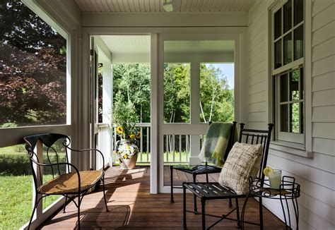 front porch deck ideas Porch Traditional with container