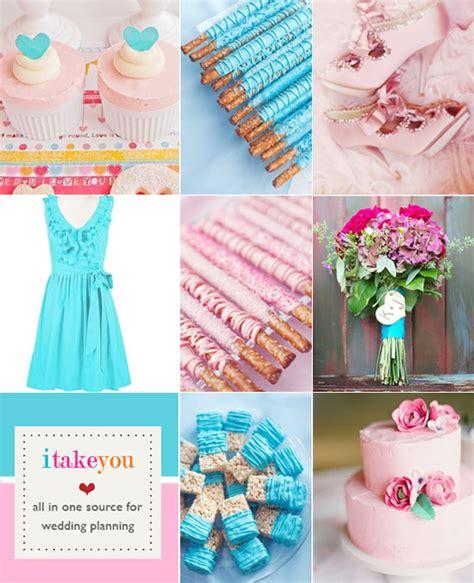 Aqua Blue And Brown Wedding Colors