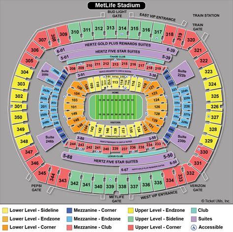 c nou stadium seat map metlife stadium venues schedule and tickets no1