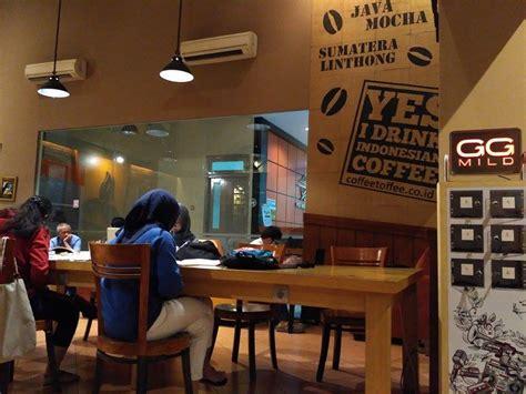 Coffee Toffee Di Surabaya tempat nongkrong malam di post shop coffee toffee surabaya