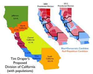 california map divided by counties christian gunslinger 1 california to be divided into six