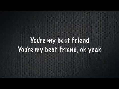 My Best Friend~Tim McGraw Lyrics when you find that