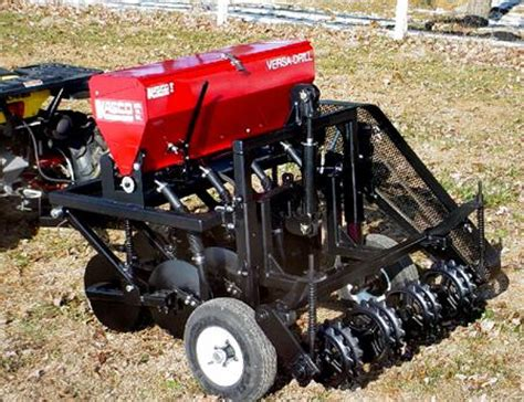 Atv Planters Drills by Walk Grass Seed Drill Pictures To Pin On