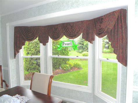 drapery swags bay window swags 187 susan s designs