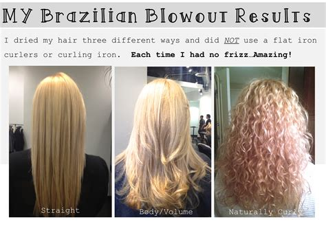 Brazilian Blowout Results On Curly Hair | brazilian blowout oh my obsession brittany blum