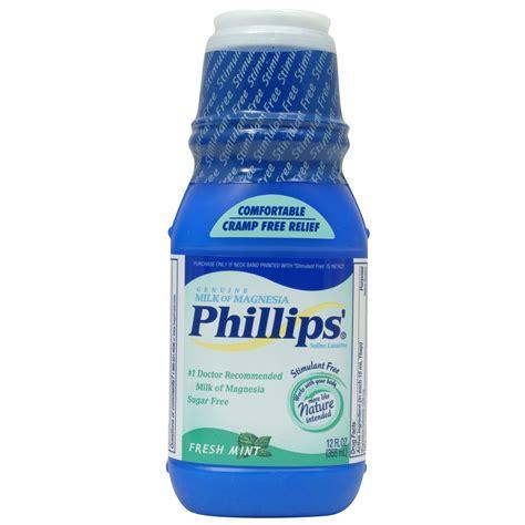 Phillips Milk Of Magnesia phillips milk of magnesia liquid 12 fluid ounce