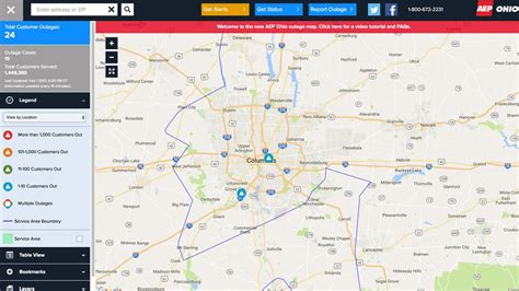 aep power outage map how do i find out where the power is out aep puts