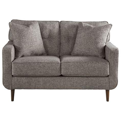 ashley furniture modern sofa ashley furniture zardoni 1140235 mid century modern