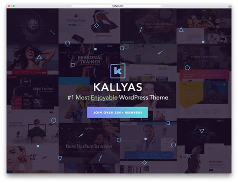 download kallyas wordpress theme 30 best full screen wordpress themes 2017 colorlib