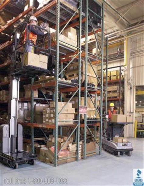 warehouse order picker lifts vertical stock picking lifts