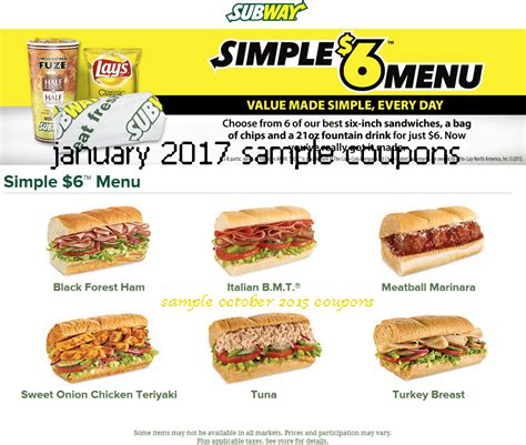 subway printable coupons blogspot printable coupons 2018 subway coupons