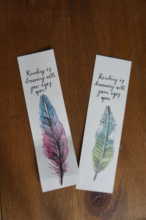 Handmade Bookmarks Ideas - 25 best bookmark ideas on diy bookmarks
