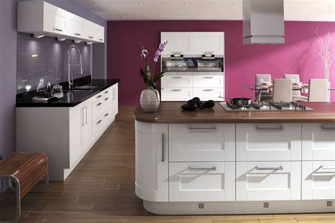 sorrento white gloss shaker kitchen proline cabintets ltd